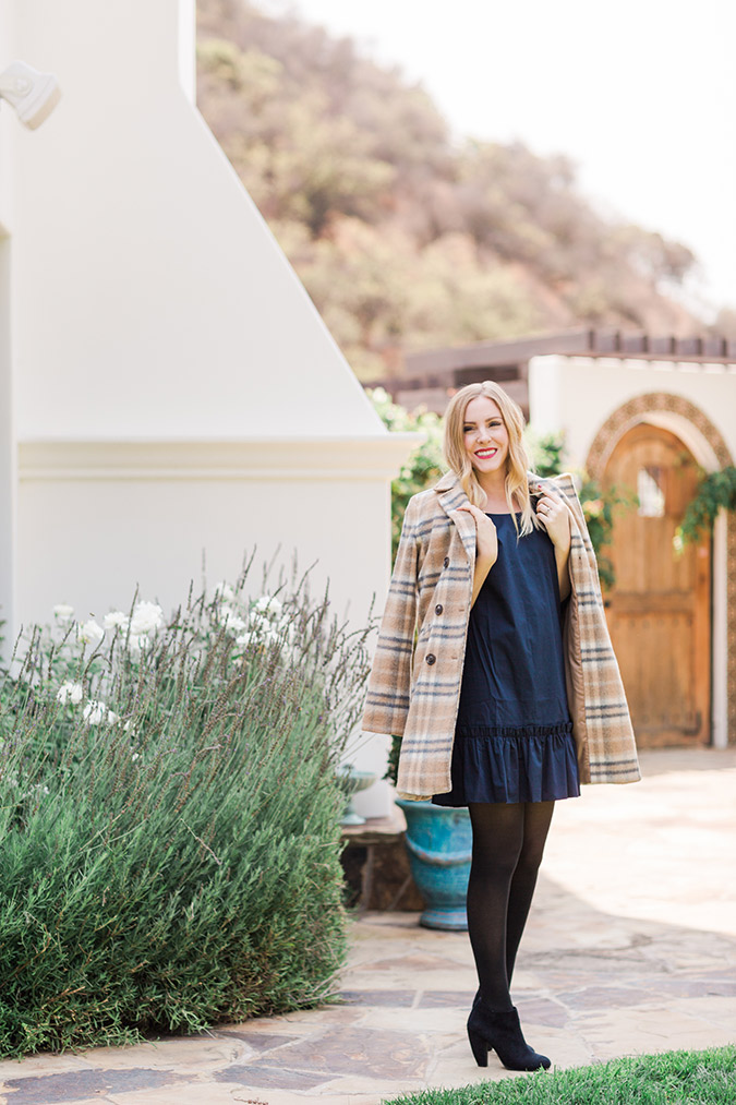 See how one of our contributors styles a drop waist dress for any season