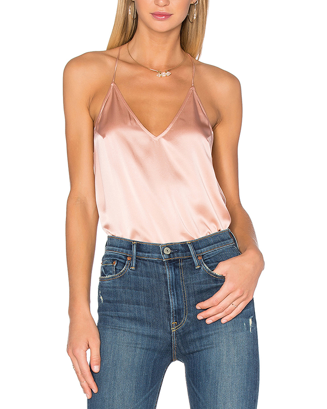 Blush silk cami, part of Lauren Conrad's Friday Favorites