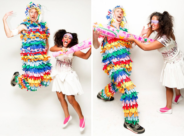 Birthday girl & pinata costumes