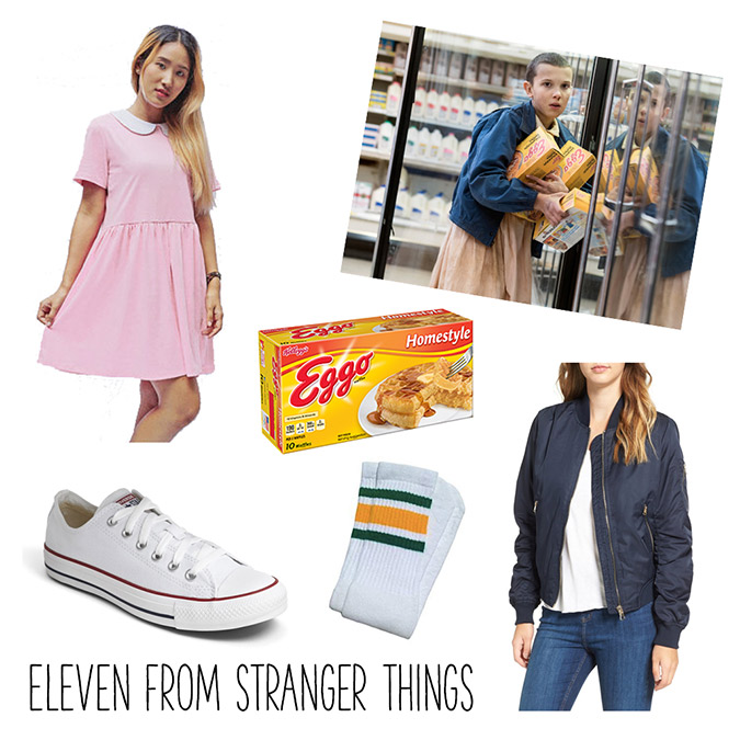 Eleven from Stranger Things costume