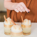 Lovely Libations: Homemade Spiced Apple Cider Snow Cones
