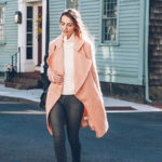 Chic of the Week: Jessica's Pretty Pink Coat