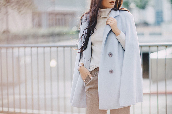 Style Tip: Cape Coats Keep It Cool
