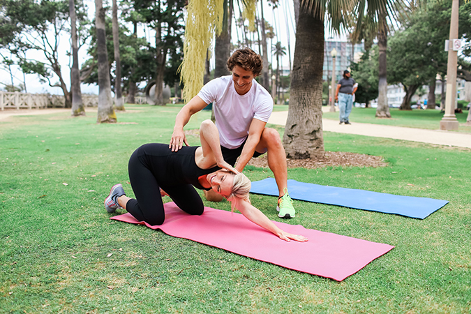 Prone Rotary Spine Exercise