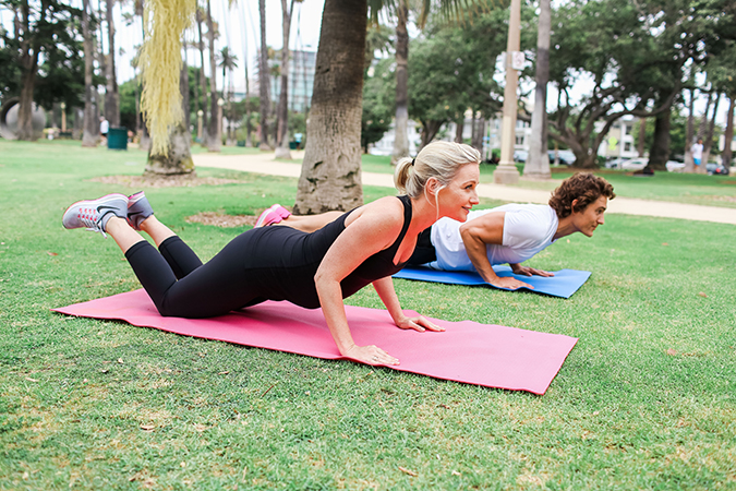Fit Pregnancy: Modified Tricep Push Ups