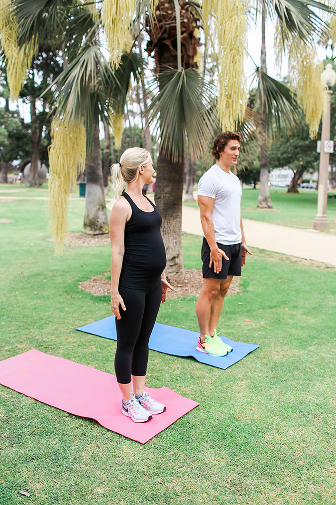 Fit Pregnancy: Reverse Lunges with Y
