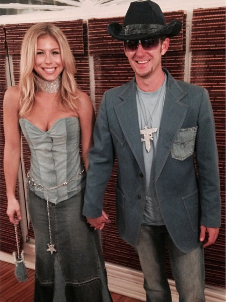Britney Spears & Justin Timberlake - couples costumes on LaurenConrad.com