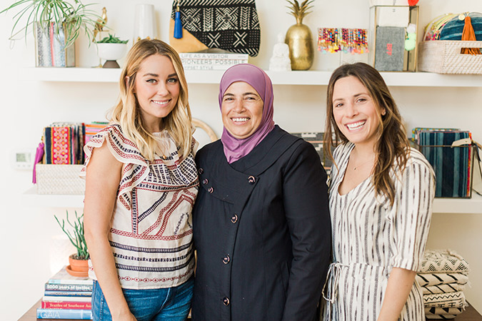 Lauren Conrad's visit to GAIA in Dallas, TX
