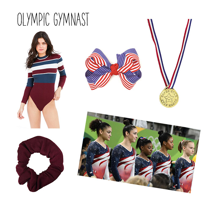 Olympic gymnast costume