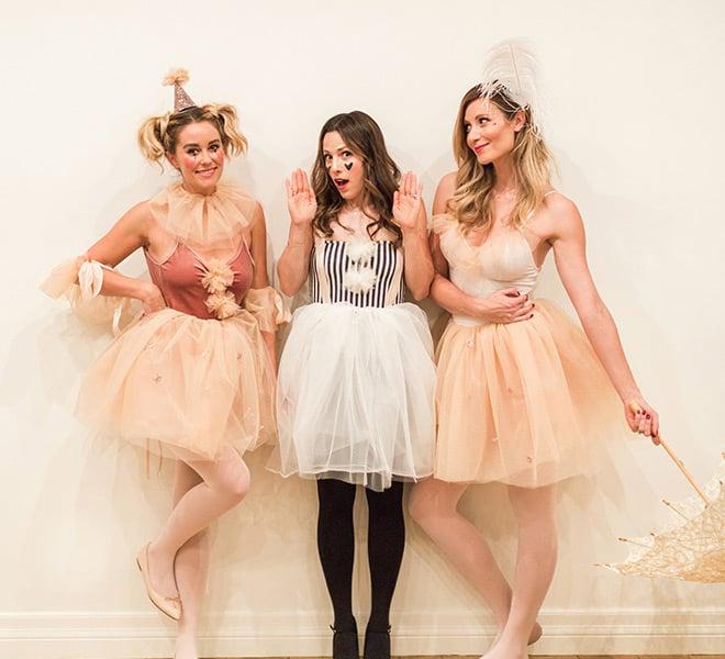 Hocus Pocus: My DIY Circus Performer Halloween Costumes