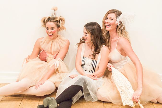 Lauren Conrad's Pastel Circus Performer Costumes