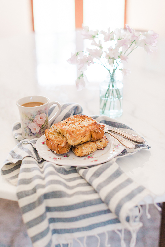 Coconut Brioche French Toast, straight from our editor's kitchen