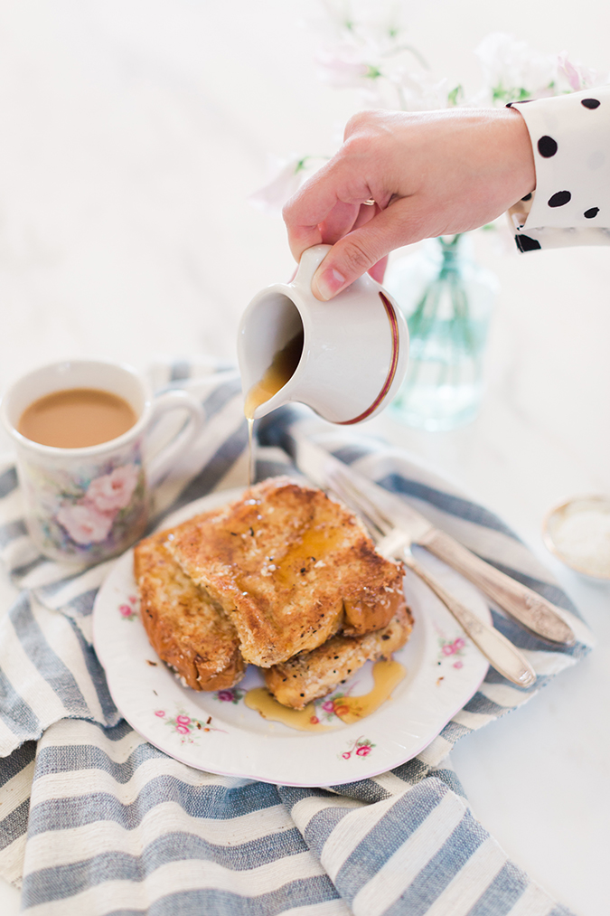 Coconut French Toast recipe on LaurenConrad.com