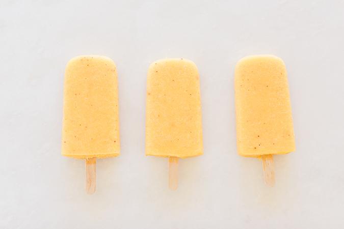 Mango Tajin Lime Popsicles