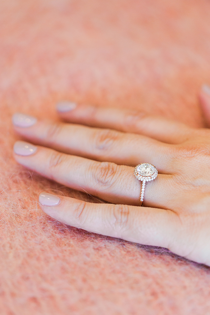 James Allen double halo engagement ring
