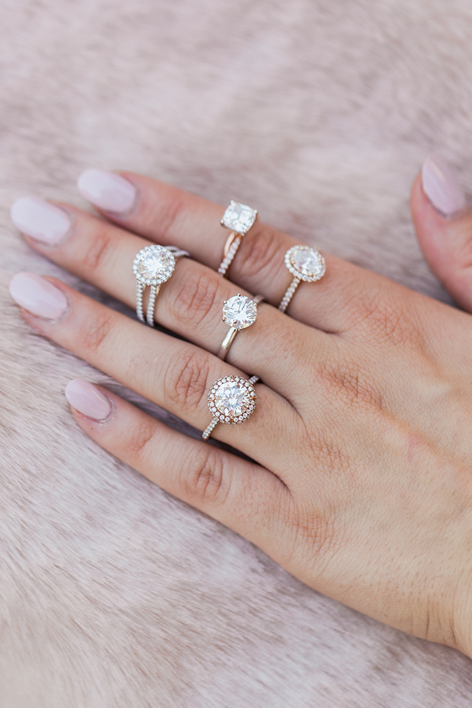 the james allen engagement rings we love - Lauren Conrad Wedding Ring