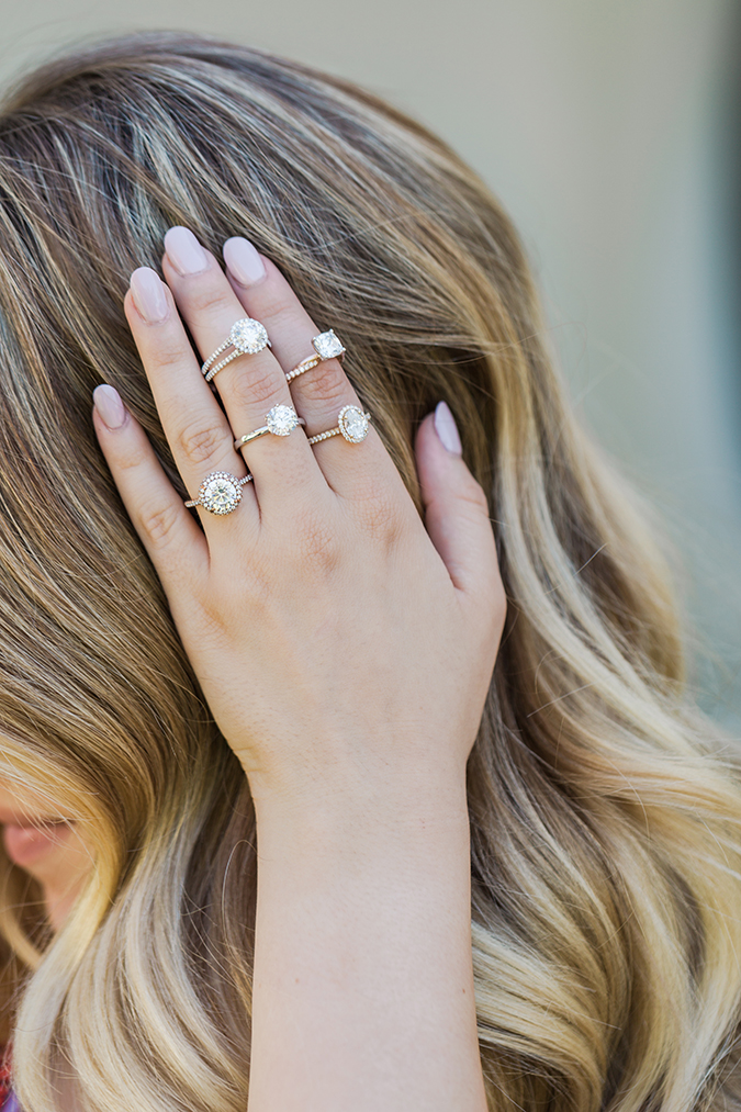 See our favorite James Allen engagement rings at any price point