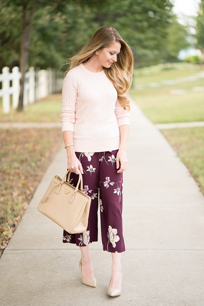 the prettiest fall look featuring LC runway pants