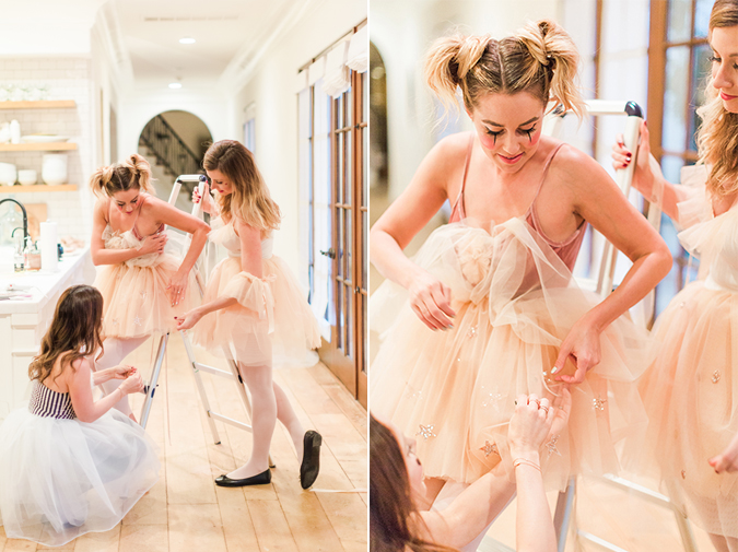 See how Lauren Conrad and her friends made the cutest DIY circus performer costumes