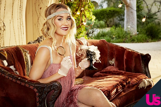 recreate Lauren's darling flapper costume for Halloween