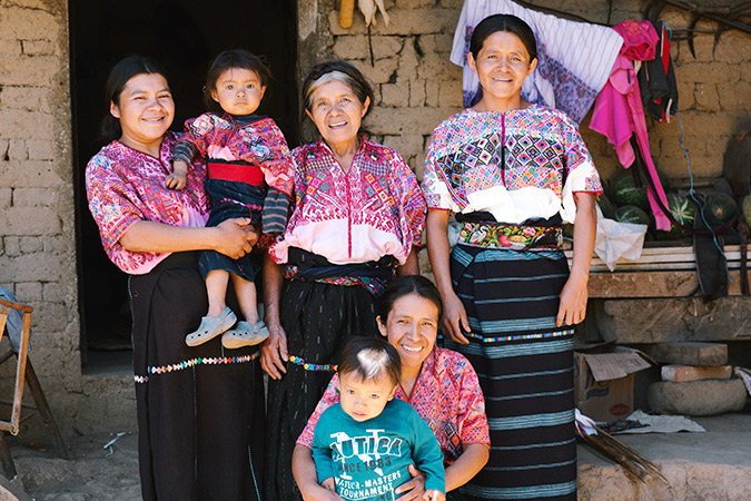 Artisans in Guatemala for The Little Market