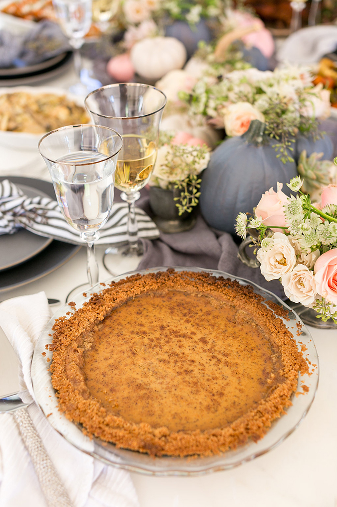 Lauren Conrad's signature Thanksgiving Pumpkin Pie