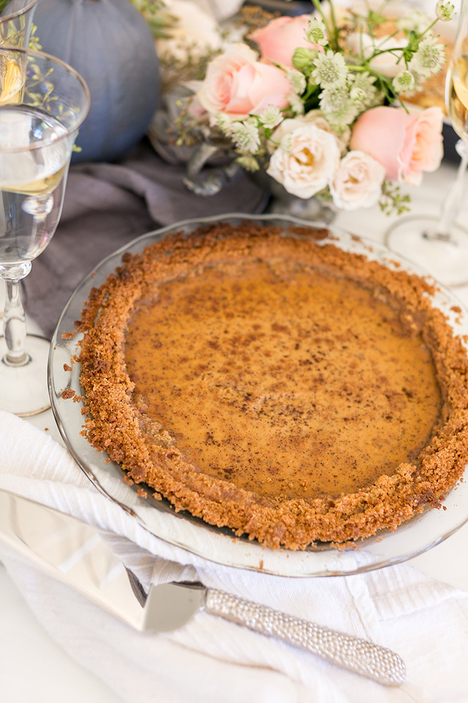 Lauren Conrad's favorite pumpkin pie recipe