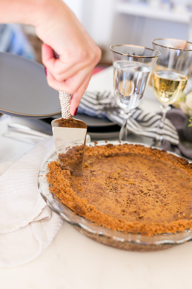 How to make Lauren's favorite pumpkin pie