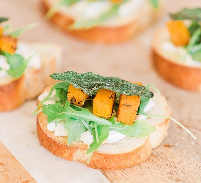 Recipe Box: Butternut Squash and Burrata Fall Crostini