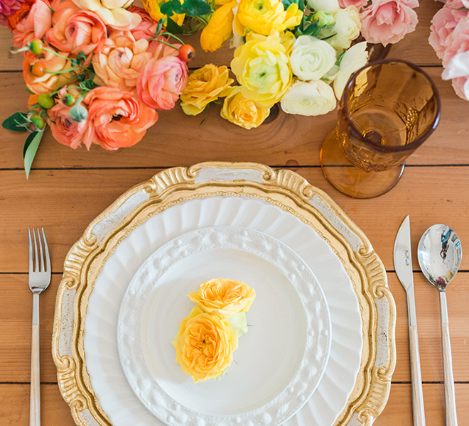 Inspired Idea: An Ombre Fall Tablescape