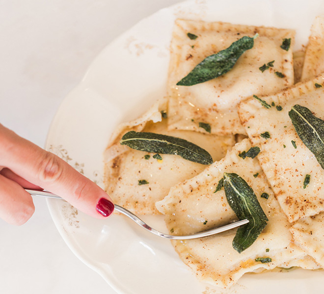 Recipe Box: Homemade Butternut Squash Ravioli with Sage Brown Butter Sauce
