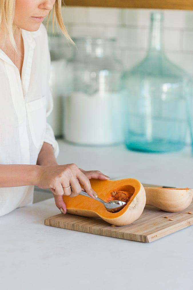 Lauren Conrad's Homemade Butternut Squash Ravioli