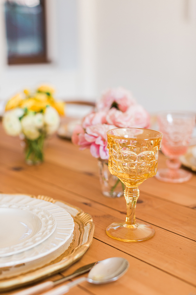 a pretty ombre table for fall