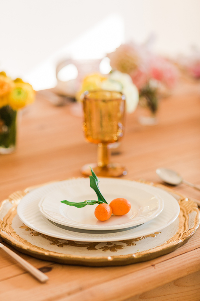 A pretty touch to your tablescape