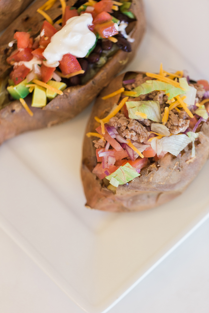 All-American Stuffed Sweet Potato Recipe