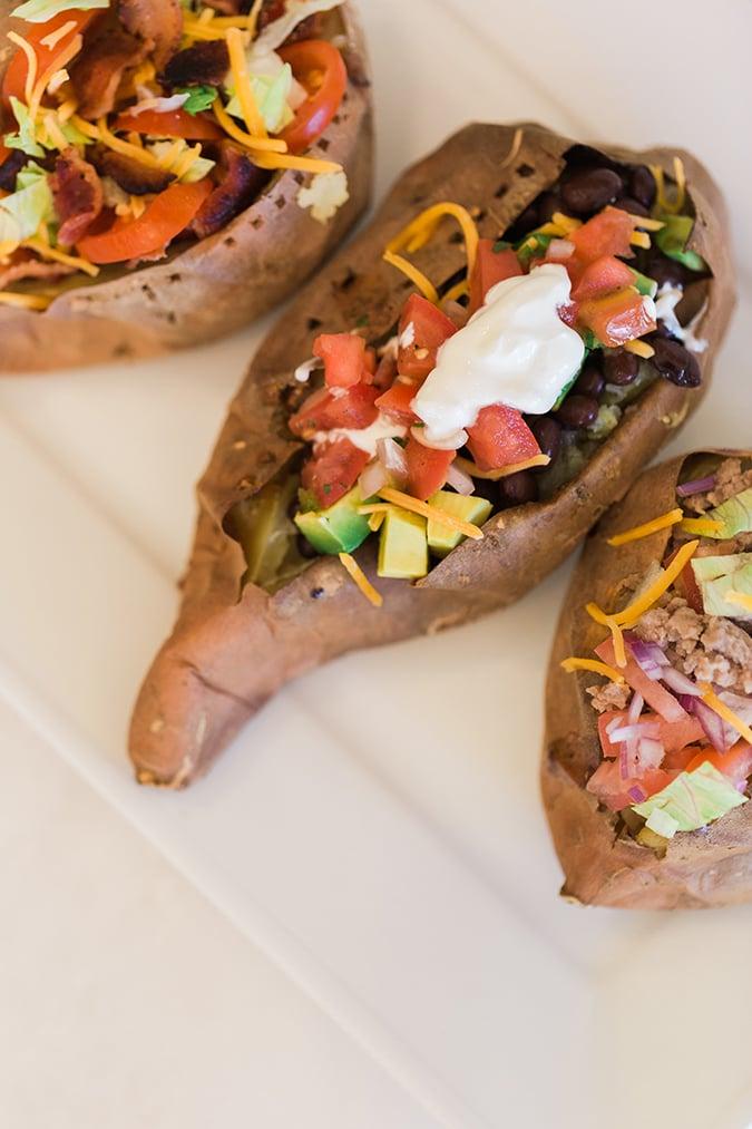 Recipe Box: Stuffed Sweet Potatoes, 3 Ways