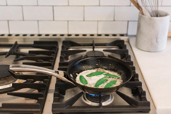 How to make fresh butternut squash crostini
