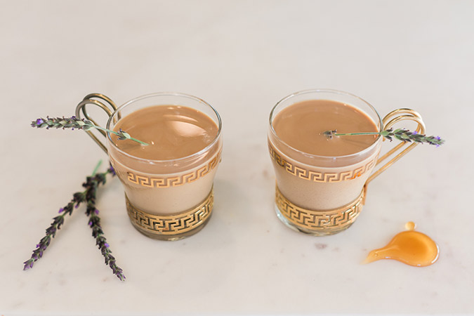 Honey Lavender Latte recipe