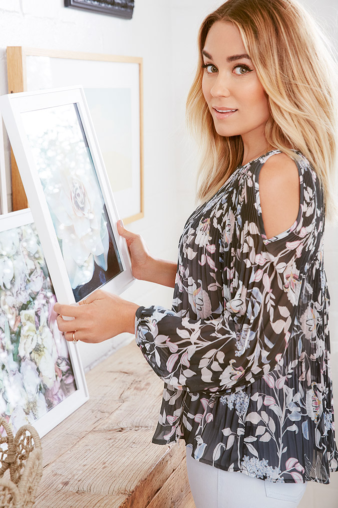 Get a peek of the December LC Lauren Conrad collection for Kohl's