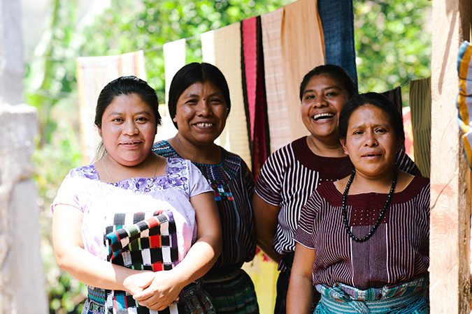 Guatemalan artisans for The Little Market | Human Rights Day