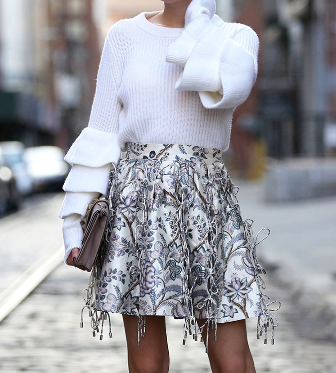 ruffles all around this season