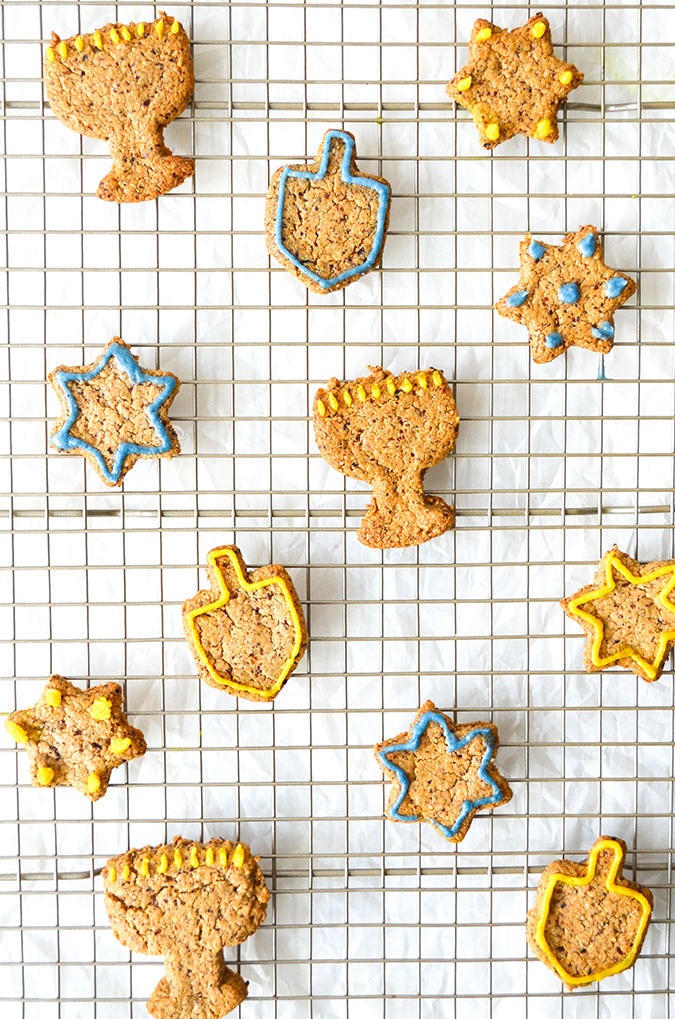 Shira Lenchewski's recipe for vegan paleo Hanukkah Cookies