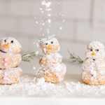 Edible Obsession: Snowmen Cream Puffs and Rudolph Donuts