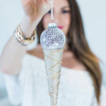 Deck the Halls: DIY Ice Cream Cone Ornaments