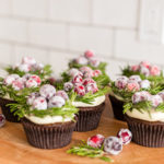 Recipe Box: Cranberry Wreath Cupcakes