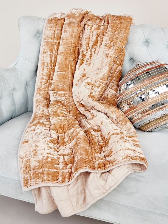 Free People velvet throw