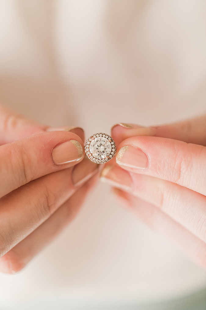See Team LC's fave engagement rings and manicures to match
