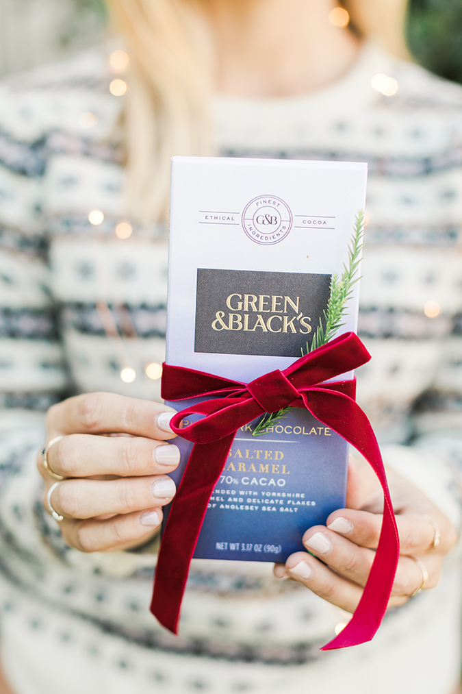the perfect stocking stuffer - Green & Black's chocolate bars