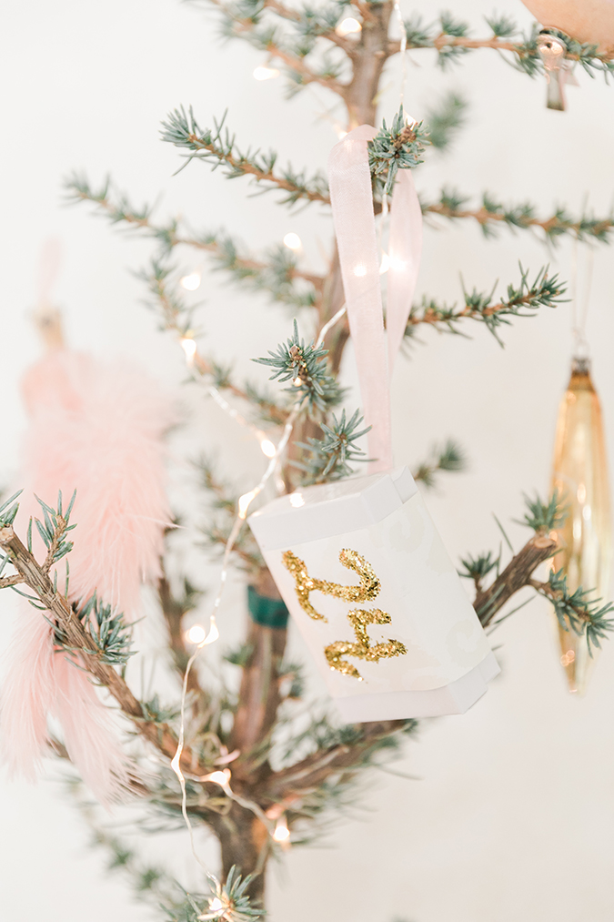 Kate Martindale's darling DIY advent ornaments