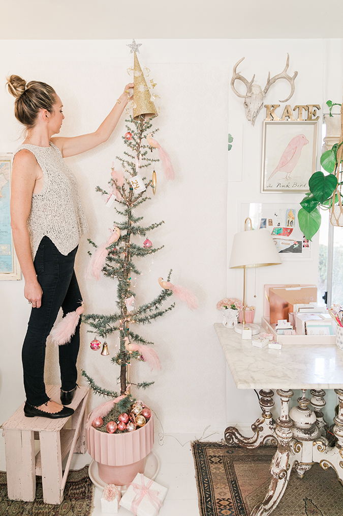 KateProp's darling glittery tree topper